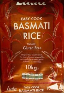Laila Easy Cook Basmati Rice | Buy Online at the Asian Cookshop